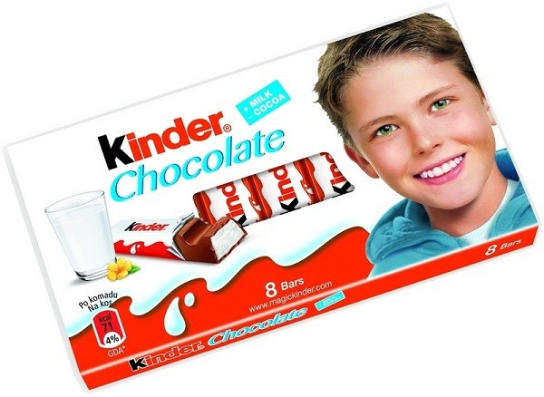 Ferrero Kinder Chocolate Bar (3.5oz/100g)