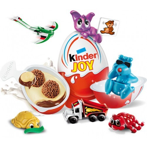 1 Ferrero Kinder Joy Eggs Chocolate Surprise Gift Inside