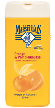Le Petit Marseillais Foaming Bath/Bain Orange & Grapefruit 500ml