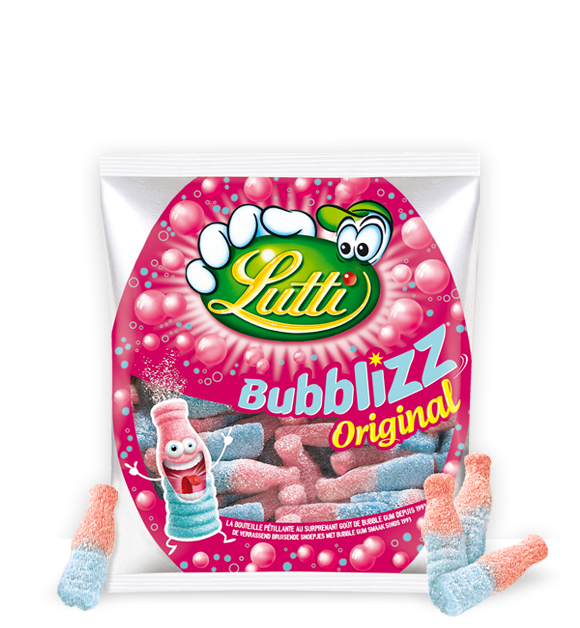 Lutti Bubblizz Original Candy from France