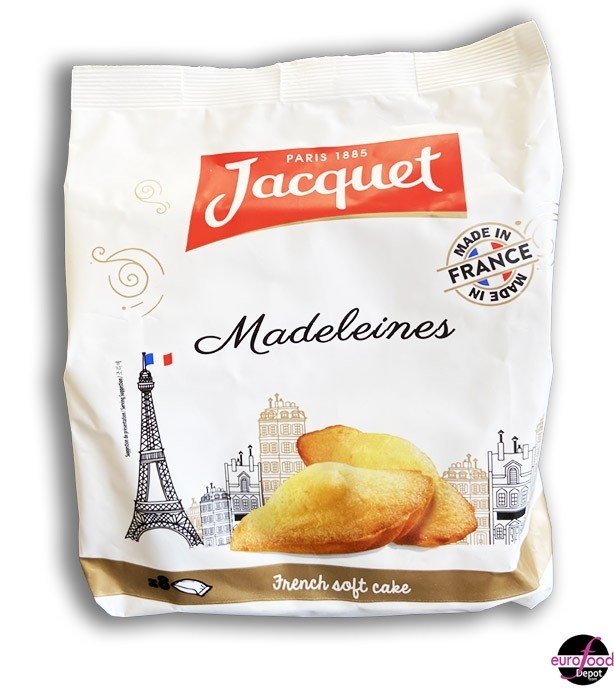 Jacquet French Madeleines - 8 individually wrapped