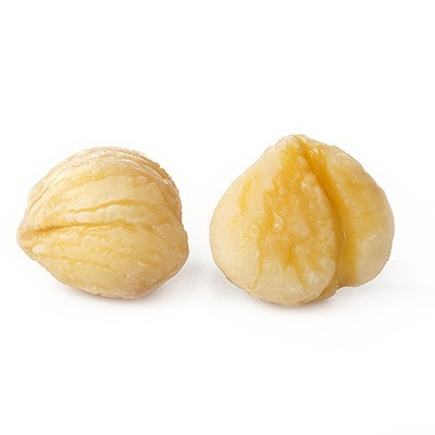 Peeled Chestnuts Europe - Marron -White Toque (2lb/1kg)
