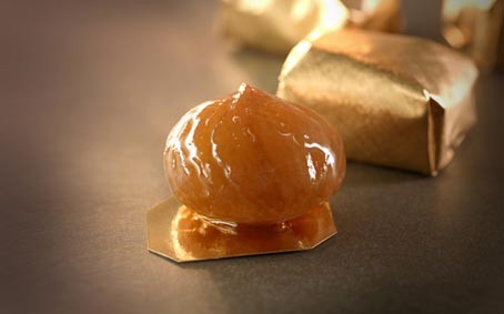 Marrons Glaces Corsiglia Candied Chestnuts - Wood Box
