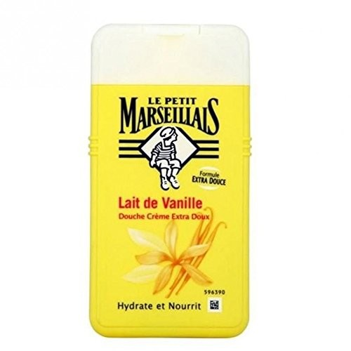 French Shower Cream Extra Gentle - Le Petit Marseillais - Vanilla