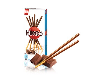 LU Mikado - Milk Chocolate Covered Sticks - Chocolat au Lait (1.1oz/30g )