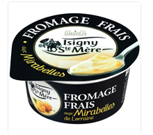 Isigny Plum Yogurt From France