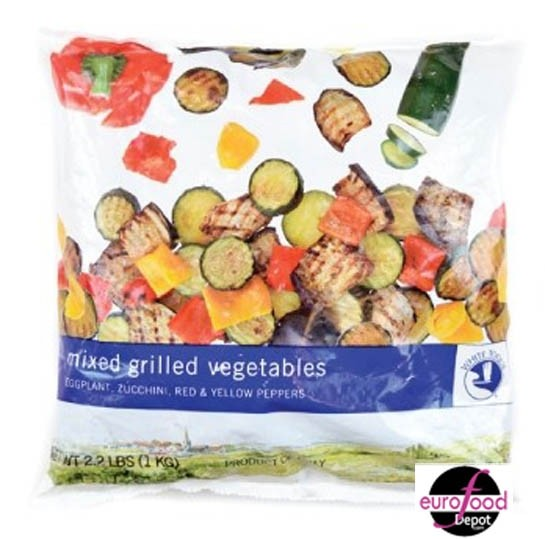 Mixed Grilled Vegetables (2.2lbs) White Toque