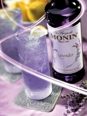 Lavender Syrup - Monin - French