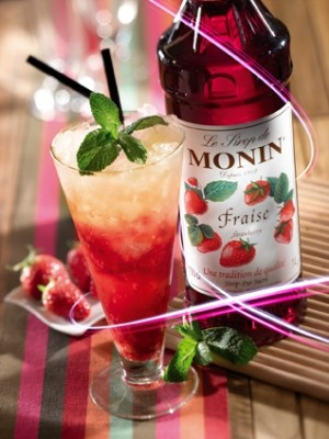 Strawberry Syrup - Monin - French
