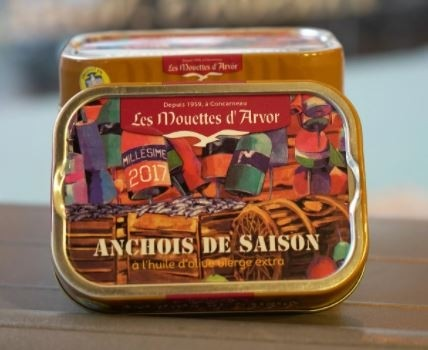 Season 2017 Whole anchovy in Extra Virgin Olive Oil - Mouettes D'Arvor