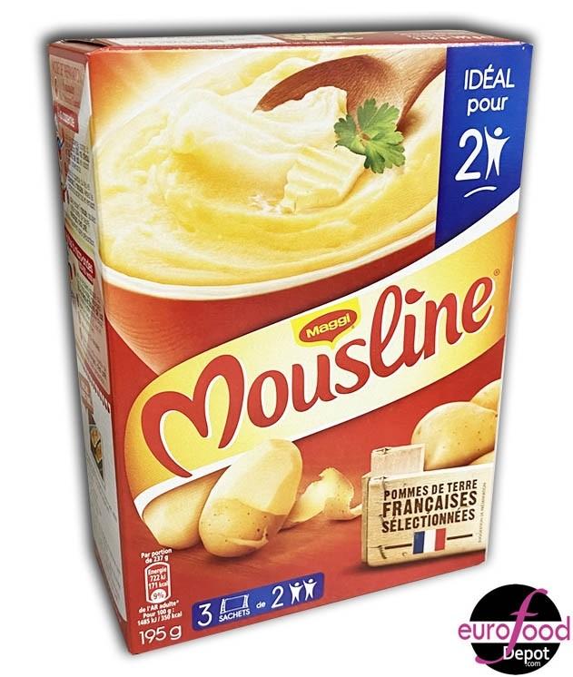 Maggi Puree Mousline Nature- Mashed potatoes (6.9oz)