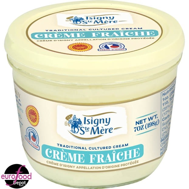 Creme fraiche D'Isigny AOP (200g-7oz)