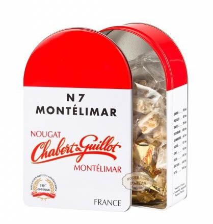 Chabert & Guillot · White Nougat pieces Tin N7 250g