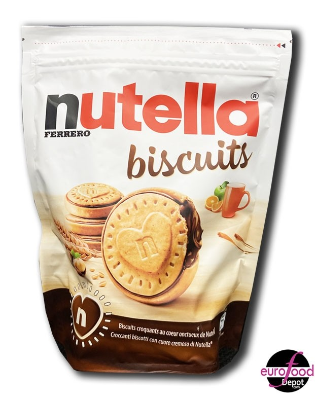 Biscuits filled with Nutella Chocolate by Ferrero (304g/10.7oz)