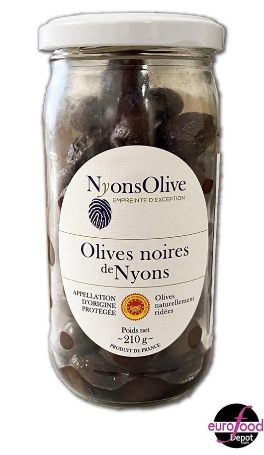 French Black Olives - Nyons Olives