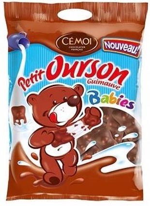 Chocolate-covered Marshmallow Bears (6.80oz/180g)