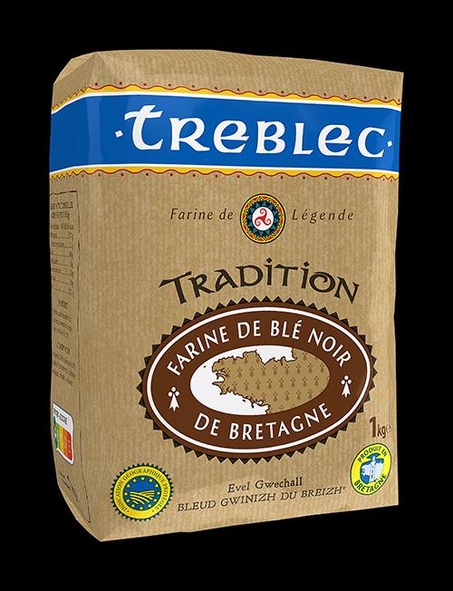 Treblec Farine de blé noir (Sarrasin) - Buckwheat Flour From Brittany