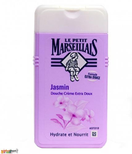French Shower Cream Extra Gentle - Le Petit Marseillais - Jasmin (8.8oz/250ml)