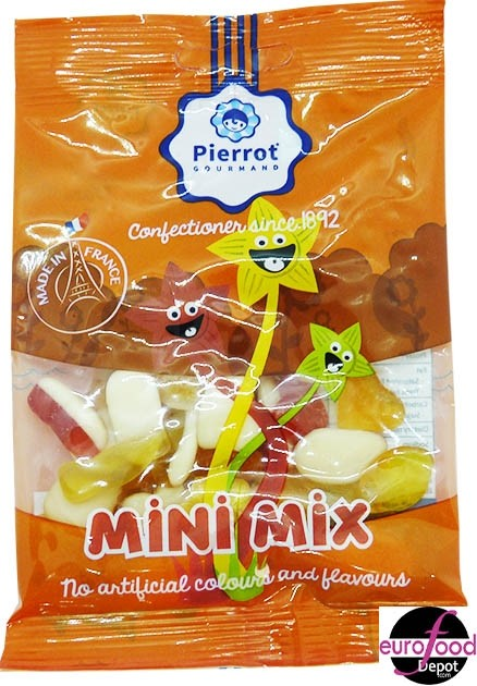 Gummies mini mix by Pierrot Gourmand (80g)