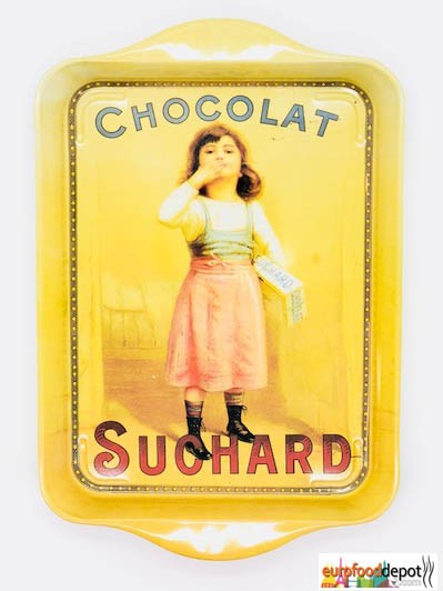 Chocolat Suchard with Little Girl Mini Metal Tray