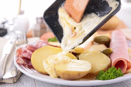 Raclette slices / Tranches de fromage a raclette (Frozen)