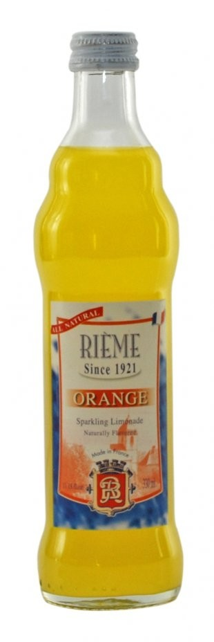 Rieme Artisanal Sparkling Limonade Orange Flavor 330 ml - 11.18 fl oz
