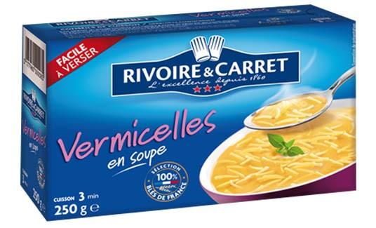 Vermicelle /Vermicelli Pasta/ Rivoire & Carret (8.8oz/250g)