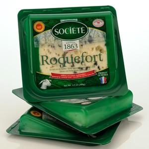 Roquefort Societe Bee Wedges (3.5oz-100g)