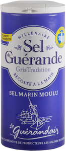 Guerande Table Salt 100% Natural - Sel (4.4oz/125g)