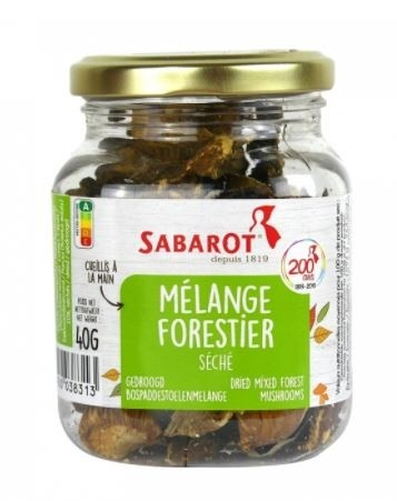 Dried mixed forest mushrooms by Sabarot