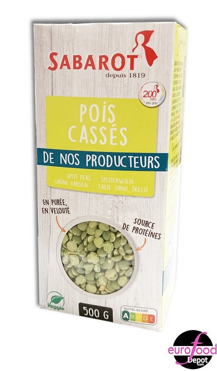 Sabarot French Green split peas