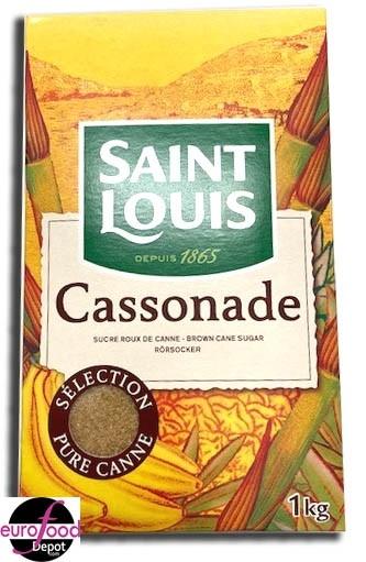 Saint Louis Cassonade Brown Cane Sugar / with pouring spout