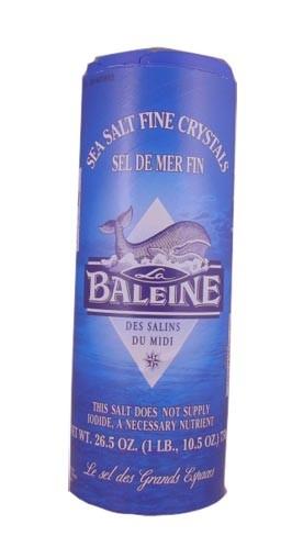 La Baleine Fine Sea Salt 750 Gr