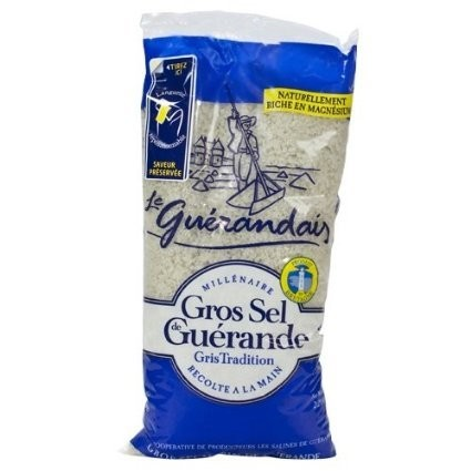 Le Guerandais Grey Coarse Salt Bag - Sel - (1.8 lbs/800g)