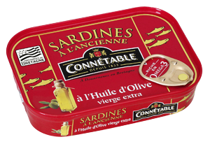 Sardines A l'ancienne in extra virgin Olive Oil Connetable