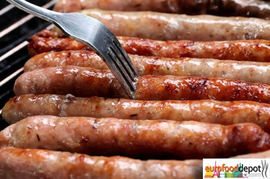 Chipolata Bistro Sausage 6 Link Pack - Fabrique delices (1.1lb) all natural