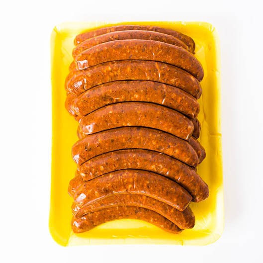 24 chicken Merguez - A spicy chicken sausage Fabrique delices (3 lbs) All natural