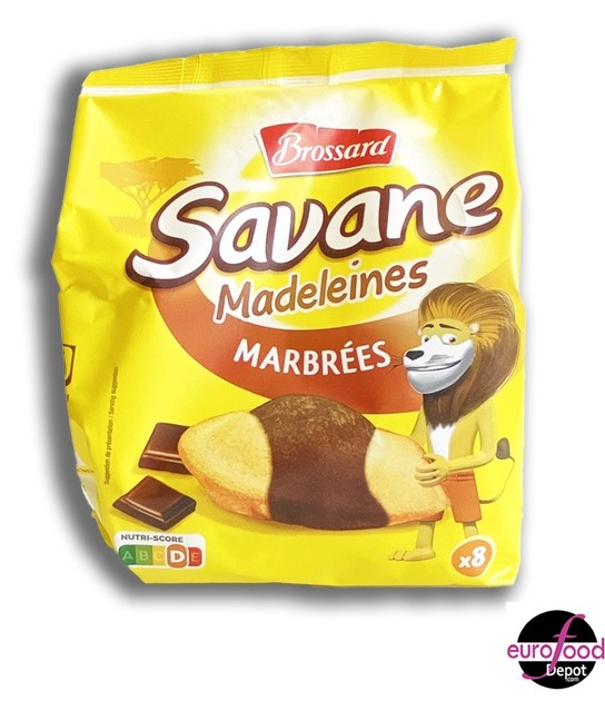 Marbeled chocolate madeleines Brossard