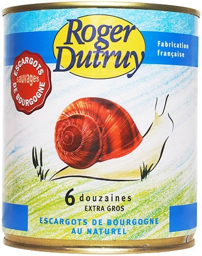 Snails Extra Large-Escargot From France - Roger Dutruy