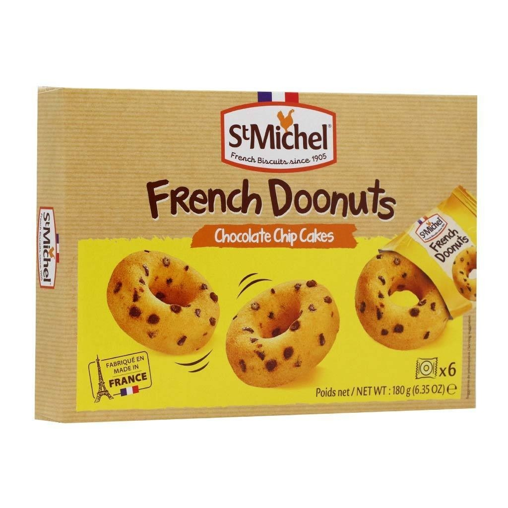 St Michel Doonuts Chocolate Chip Cakes