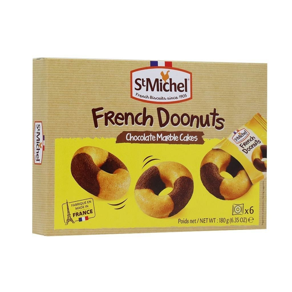 St Michel Doonuts Chocolate Marble Cakes