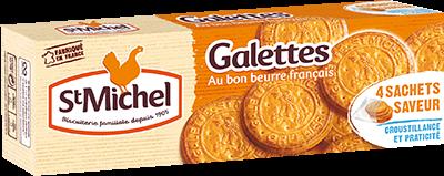 St Michel 20 Butter cookies (galettes au beurre)