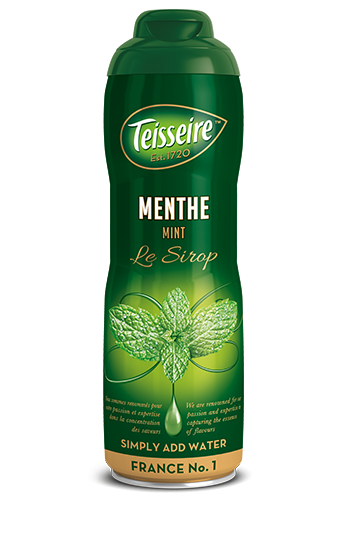 Teisseire mint Syrup (menth) - Concentrated - 20.3 fl.oz. 60cl