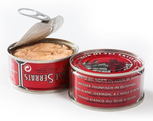 Serrats White Tuna in Olive Oil Tin (115g/4oz)