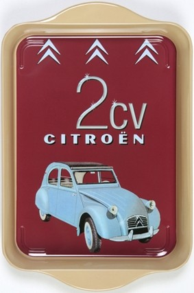Citroen 2CV Mini Metal Tray