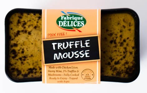 Truffle Mousse  Fabrique Delices All natural