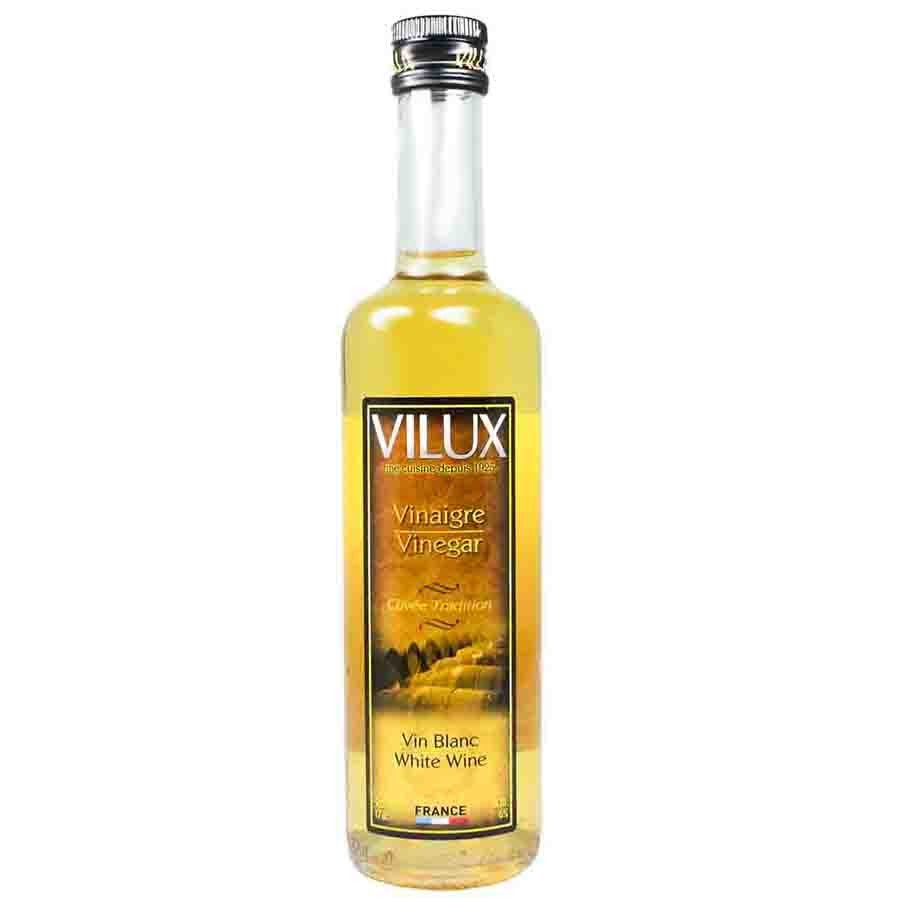 VILUX  White Wine Vinegar - French Vinaigre de Vin Blanc - VILUX
