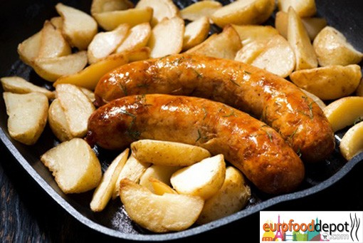 Wild Boar Sausage with Apples & Cranberries - Fabrique delices