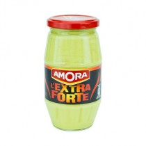 Extra Strong Amora Mustard-French Moutarde de Dijon Fine