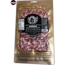 Black Truffle Salami Pre-sliced (large) / saucisson sec à la truffe noire